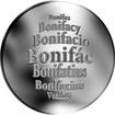 Česká jména - Bonifác - velká stříbrná medaile 1 Oz