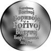 Česká jména - Bořivoj - stříbrná medaile