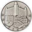 Bratislava stříbro 1Oz patina