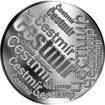 Česká jména - Čestmír - velká stříbrná medaile 1 Oz