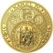 Nejkrásnější medailon III. Císař a král - 1 kg Au b.k.