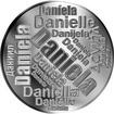 Česká jména - Daniela - velká stříbrná medaile 1 Oz