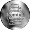 Česká jména - Dominik - stříbrná medaile