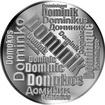 Česká jména - Dominik - velká stříbrná medaile 1 Oz