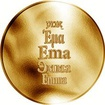 Česká jména - Ema - zlatá medaile