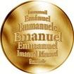 Česká jména - Emanuel - zlatá medaile