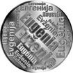 Česká jména - Evženie - velká stříbrná medaile 1 Oz