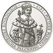 Korunovace Fridricha Falckého českým králem - stříbro b.k.