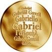 Česká jména - Gabriel - zlatá medaile