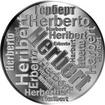 Česká jména - Herbert - velká stříbrná medaile 1 Oz