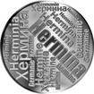 Česká jména - Hermína - velká stříbrná medaile 1 Oz