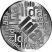 Česká jména - Ida - velká stříbrná medaile 1 Oz