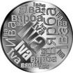 Česká jména - Iva - velká stříbrná medaile 1 Oz