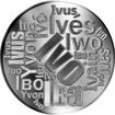 Česká jména - Ivo - velká stříbrná medaile 1 Oz