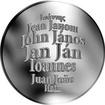 Česká jména - Jan - velká stříbrná medaile 1 Oz