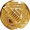 Česká jména - Jaromír - velká zlatá medaile 1 Oz