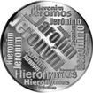 Česká jména - Jeroným - velká stříbrná medaile 1 Oz