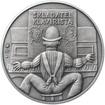 Jiří Šlitr - 90. výročí narození stříbro patina