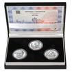 JIŘÍ TRNKA – návrhy mince 500,-Kč - sada tří Ag medailí 1 Oz b.k.