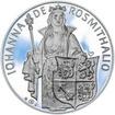Johana z Rožmitálu 50 mm stříbro Proof