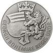 Johana z Rožmitálu 50 mm stříbro patina