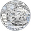 Karel IV. římský císař - 50 mm Ag Proof