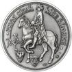 Karel I. Veliký - 1200. výročí úmrtí stříbro patina