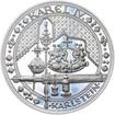 Nejkrásnější medailon IV. - Karlštejn 50 mm Ag Proof