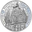Stříbrná medaile Katedrála sv. Víta, Václava a Vojtěcha - 50 mm Proof