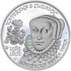 Kateřina z Ludanic - 450. výročí narození stříbro proof