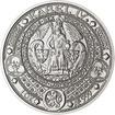 Nejkrásnější medailon II. - Královská pečeť Ag b.k.