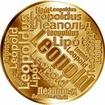 Česká jména - Leopold - velká zlatá medaile 1 Oz