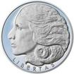 Svoboda, Rovnost, Bratrství I. - sada tří stříbrných medailí Proof