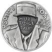 Louis de Funes - 100. výročí narození stříbro patina