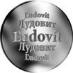 Slovenská jména - Ľudovít - velká stříbrná medaile 1 Oz