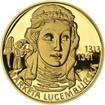 Markéta Lucemburská - 700. výročí narození Au proof