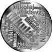 Česká jména - Mikuláš - velká stříbrná medaile 1 Oz