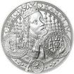 Nejkrásnější medailon I. Nové Město pražské - 50 mm Ag b.k.