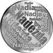 Česká jména - Naděžda - velká stříbrná medaile 1 Oz