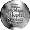 Slovenská jména - Nikolaj - velká stříbrná medaile 1 Oz