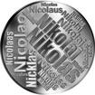 Česká jména - Nikolas - velká stříbrná medaile 1 Oz