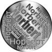 Česká jména - Norbert - velká stříbrná medaile 1 Oz