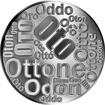 Česká jména - Oto - velká stříbrná medaile 1 Oz