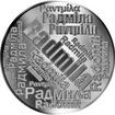 Česká jména - Radmila - velká stříbrná medaile 1 Oz
