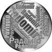 Česká jména - Radomír - velká stříbrná medaile 1 Oz