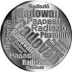 Česká jména - Radovan - velká stříbrná medaile 1 Oz