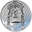 Relikvie Sv. Václava - II. - Ag 28mm Proof