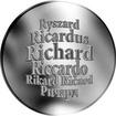Česká jména - Richard - velká stříbrná medaile 1 Oz
