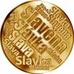 Česká jména - Slavěna - velká zlatá medaile 1 Oz