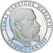 70 let od úmrtí Tomáše Garrigue Masaryka - stříbro Proof